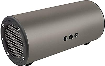 MINIRIG Subwoofer Portable Rechargeable Bass Speaker - 80 Hour Battery - Silver/Grey from PASCE
