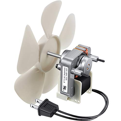 Bathroom Vent Fan Motor and Blower Wheel Replacement S1200A000 Electric Motors Kit Compatible with Nutone Broan 3000 RPM 120V