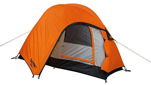 GIGATENT TEKMAN 1 7 X 3.5 1 Person 3 Season Dome Backpacking Tent Super Compact Super Light Over-Sized Fly Vestibule