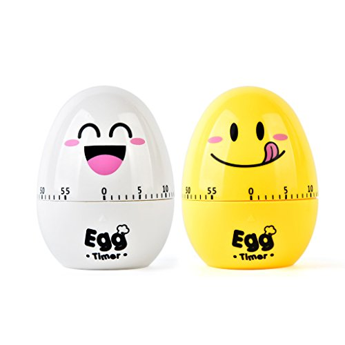 Tumao Kurzzeitmesser Family Care Zeitmesser, Eieruhr Küchentimer, Eieruhr, Eiertimer, Countdown Timer Schallendem Alarm,küche Elektronischer Timer, Küchenhelfer, Lautem Alarm, süße Form.