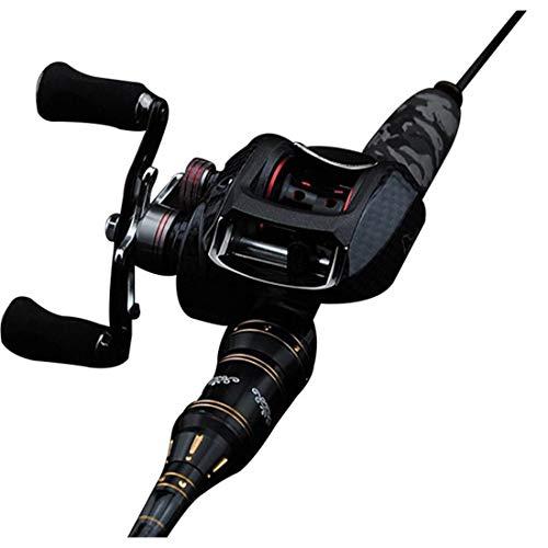 1 Cuscinetti a Sfera Baitcasting Fishing Reel 7.0:1 Mano Sinistra//Destra con Una Sola via Frizione Baitcasting Bobina Lixada Mulinello per Canna 17