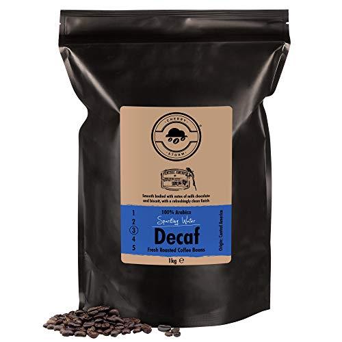 Cherry Storm - Café Descafeinado en Grano - 1kg - 100% Arabica - Sparkling Water Decaf