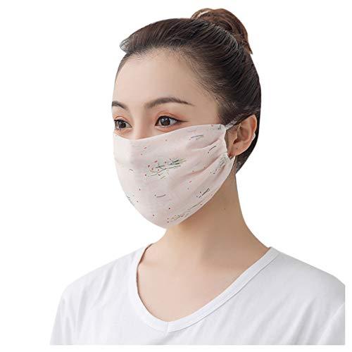 YYMQ médico Facial de Gasa Transpirable desechable, Antipolvo con Bucle elástico y 3 Capas de protección, Apto para salón, Pintura, jardín, empaquetado Individual