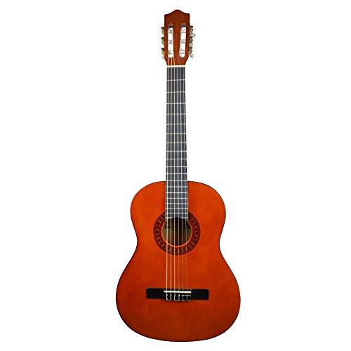 Stagg C542 - Guitarra clásica, 4/4, color natural oscuro