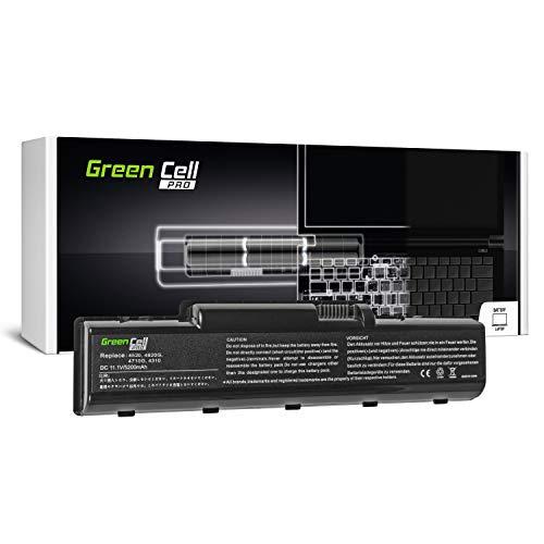 Green Cell PRO Serie AS07A31 AS07A41 Laptop Akku für Acer Aspire 57xx 5735 5735Z 5737Z 5738 5738G 5738PZG 5738Z 5738ZG 5740 5740G (Original Samsung SDI Zellen, 6 Zellen, 5200mAh, Schwarz)