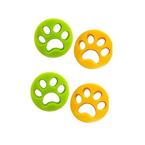 4 Pcs Eliminador De Pelo De Mascotas Para Lavandería, Lavadora De Limpieza Reutilizable, Removedor De Pelo De Mascotas Para Lavadora, Recogedor De Pelo De Mascotas Para Ropa