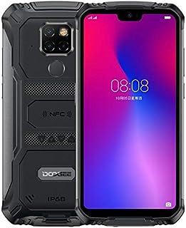 Teléfono Móvil Resistente DOOGEE S68 Pro, Helio P70 Octa Core 6GB 128GB, IP68 Smartphone Antigolpes, Batería 6300mAh (Carg...