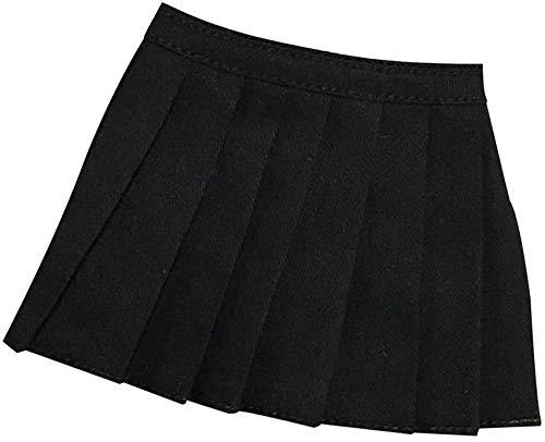 ZSMD 1/6 - Falda de entrenamiento para mujeres Phicen, cuerpo femenino de 12 pulgadas, color negro