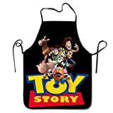 JIILWKIE Toy Story Apron with Black Border
