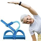 Desconocido Aparatos de Gimnasia para Mayores - Fitness en casa - Gomas elásticas Fitness para la Tercera Edad - Entrenamiento en casa - Regalos para Abuelos y Abuelas saludables