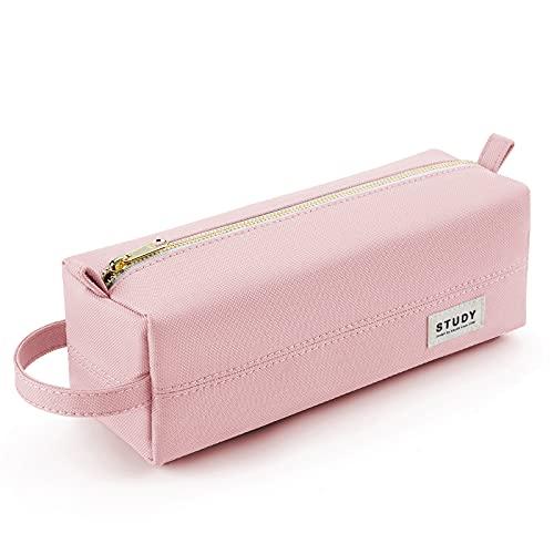 KALIDI Estuche escolar, materiales de alta calidad con capacidad adecuada, estuche para lápices, cremallera duradera, bolsa de maquillaje, para la escuela y la oficina, para mujeres y niñas.