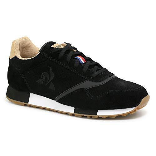 Le Coq Sportif Delta Premium, Zapatillas Hombre, Black, 45 EU