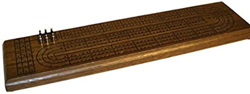 3 Track Walnut Stain Cribsace by Worldwise Imports