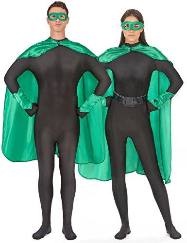 Generique - Kit Super héros Vert Adulte