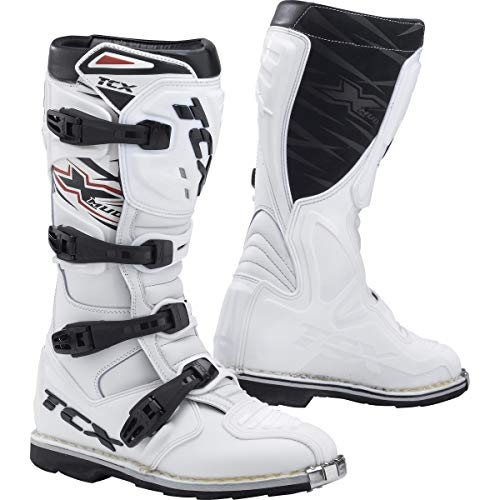 9640 - TCX X-Mud Motocross Boots 41 White (UK 7.5)