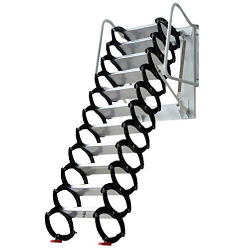 sunyu Escalier escamotable - Dalliage De Titane-Magnésium - pour La Charnière Déchelle Rabattable De Grenier