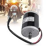 FOLOSAFENAR avec poulie de Courroie en métal vélo électrique Moteur brossé Aluminium Premium MY6812 12V 120W, pour Scooter électrique