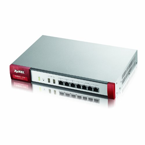 ZyXEL ZyWALL 1.6 Gbps VPN Firewall, recommended for up to 100 users [ZYWALL110]