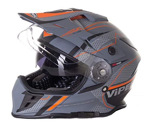 Casco de motocross VIPER RX-V288 para hombres y mujeres, para motocross, motocross,...