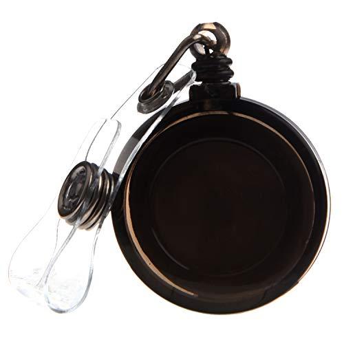 Suading Cadena de tracción retráctil con clip de cinturón para identificación