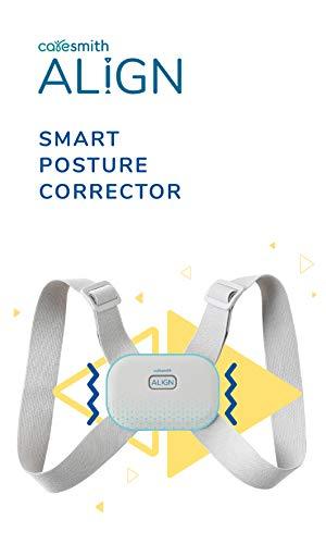 Caresmith ALIGN Electric Posture Corrector for Men & Women   Large Size   Intelligent Vibration Sensor Prevents Slouching   Posture Corrector Belt For Men   Back Support Belt