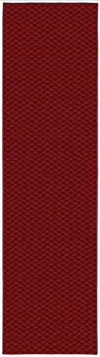 Garland Rug Medallion Rug Runner, 2' x 8', Chili Pepper Red