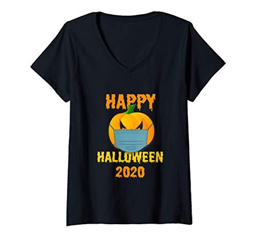 Mujer Fiesta de Halloween 2020 Calabaza con mascarilla Regal