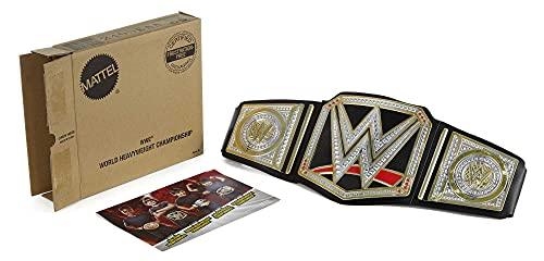 WWE MATTEL DPN38 Wwe - Cinturón de campeonato, versión original, talla única