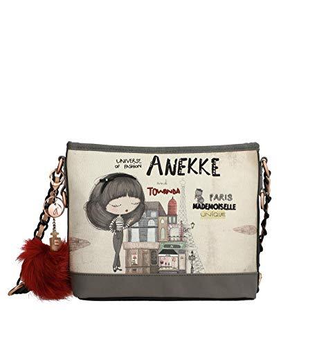 Anekke Bandolera original en tono gris