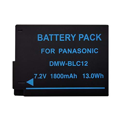 LOTUS POWER Batteria Ricambio DMW BLC12, Batteria ricaricabile agli Ioni di Litio da 1800 mAh 7,2 V DMW-BLC12 per Panasonic Lumix DMC-G85 DMC-G7 DMC-G6K DMC-FZ1000