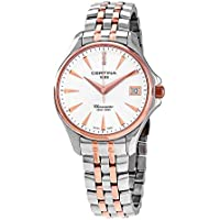 Certina DS Action Chronometer Diamonds Ladies Two-Tone Watch (C032.051.22.036.00)