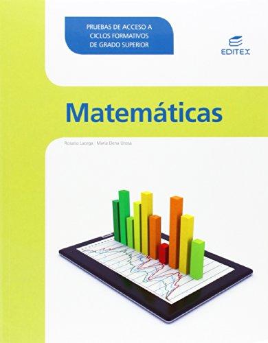 Matemáticas. Pruebas de acceso a Ciclos Formativos de Grado Superior
