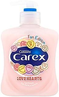 Carex Fun Edition Love Hearts Hand Wash 250ml - スゲ楽しい版愛の心のハンドウォッシュ250ミリリットル [並行輸入品]