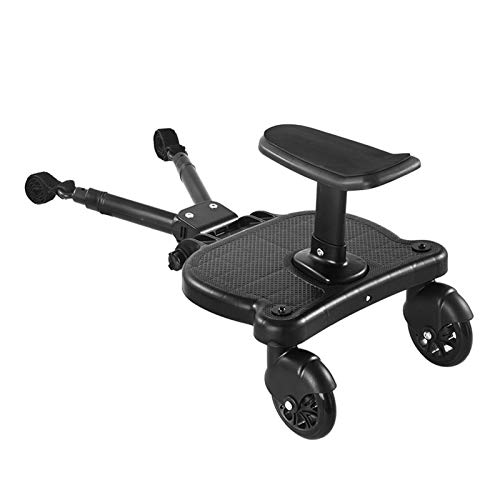 SSXPNJALQ Adaptador de Pedal de cochecitos universales Segundo Niño Placa de pie con Trolley de Asiento Trailer Auxiliar Scooter Hacksthiker (Color : Mode 2)