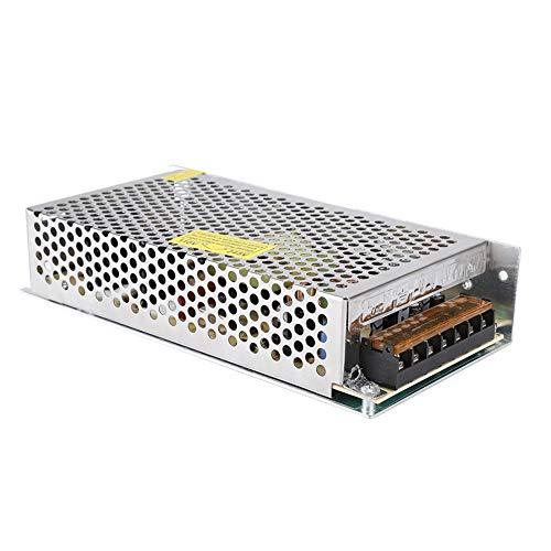ASHATA 3D-Druckerzubehör, S-120-12,12v10a120w Hochwertiger Stromversorgungsschalter, für LED-Beleuchtung, Sicherheitsüberwachungssystem, Überwachungskamera, IP-Kamera, 3D-Drucker usw.