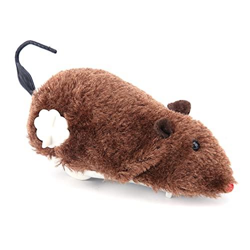 Katzenspielzeug Automatische Bewegliche Maus Automatische Niedliche Laufende Plüschmaus Pet Interaktive Maus, die Katzenspielzeug für Heimtierbedarf Fängt