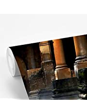 Fotobehang vinyl Romeinen - Romeins badhuis in Bath 320x240 cm