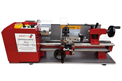 PAULIMOT Drehmaschine SIEG SC2 mit 80 mm Futter, 400 mm Spitzenweite
