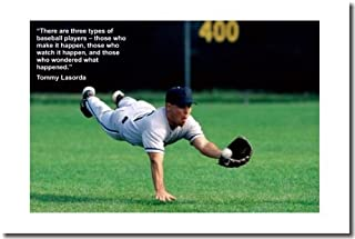 There Are 3 Types of Baseball Players (Diving Catch)- Classroom Motivational Poster