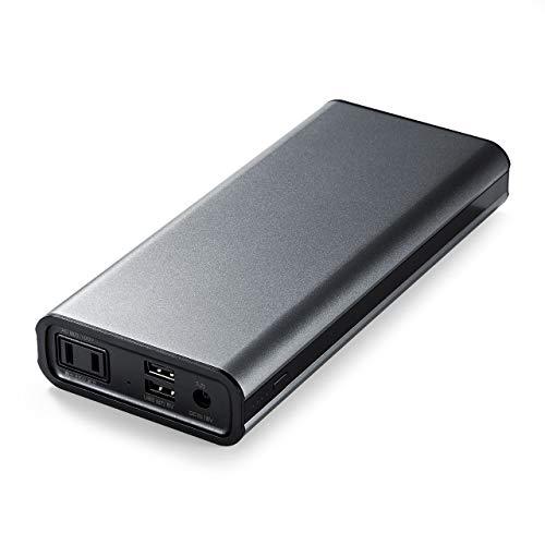 モバイルバッテリー AC出力対応 22800mAh 大容量 65W