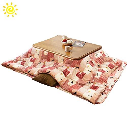 Koffietafel La Casa verwarmingstafel voor slaapkamer, tafel, rechthoekig, wintertuin, balkon, tapijt, multifunctionele verwarming, tafel, woonkamer, elektrisch