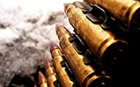 機関銃の弾丸1000ピースジグソーパズル 木製ジグソー脳チャレンジ