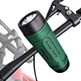 ZEALOT S1 Altavoz Bluetooth Portátil 10W, Altavoces Bluetooth Inalámbrico Impermeable,Sonido estéreo HD Potentes con Luces & Micrófono,AUX/Tarjeta TF para Camping,Viajes, Aire Libre,Bici