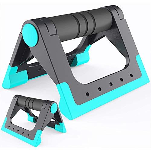 SHUILV Push-up-Barras-Home-Home-Home-Equipment Pushup-Handing-Cushioned-Foam-Grip-Grip-Slight Sturdy Slight Suelo para Entrenamientos de Fuerza - Push Up Barras para Hombres Mujeres