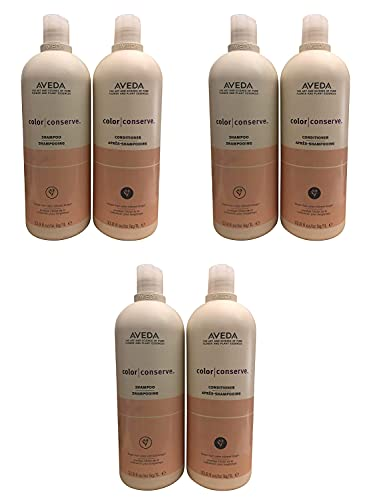Color Conserve Shampoo and Conditioner 33.8oz Helps Protect Hair Color and Prevents Fading Set of 3