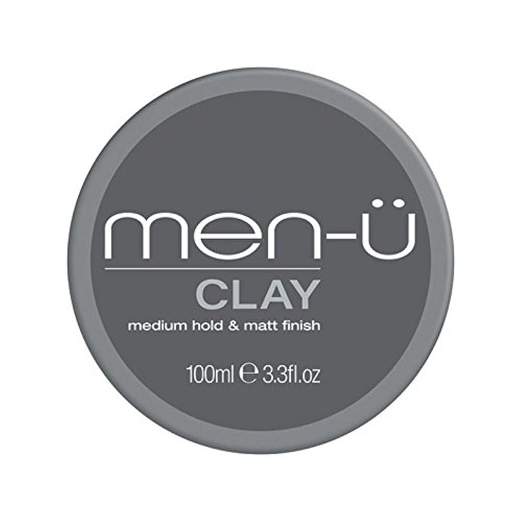 取り扱いメタリック死の顎Men-? Clay (100ml) (Pack of 6) - 男性-粘土(100ミリリットル) x6 [並行輸入品]