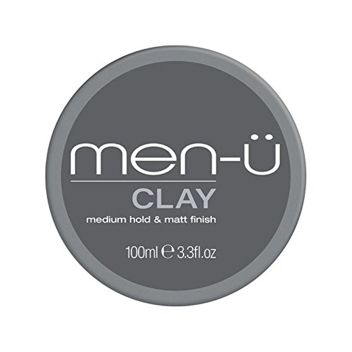 ところで散らすアクティビティ男性-粘土(100ミリリットル) x4 - Men-? Clay (100ml) (Pack of 4) [並行輸入品]