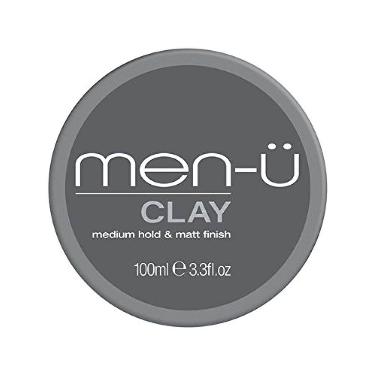 窓を洗うアグネスグレイ名前でMen-? Clay (100ml) (Pack of 6) - 男性-粘土(100ミリリットル) x6 [並行輸入品]