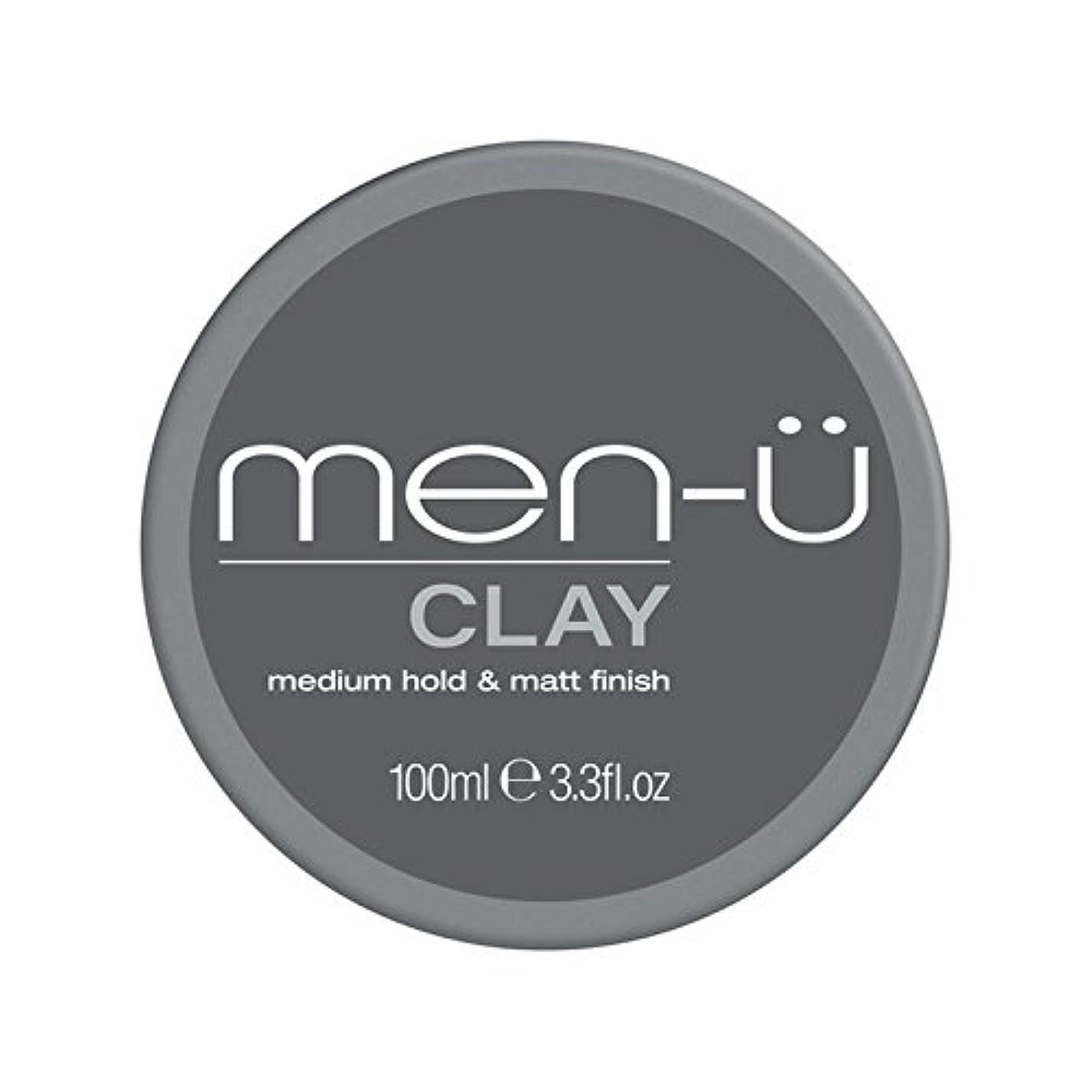 日音楽肥料Men-? Clay (100ml) (Pack of 6) - 男性-粘土(100ミリリットル) x6 [並行輸入品]
