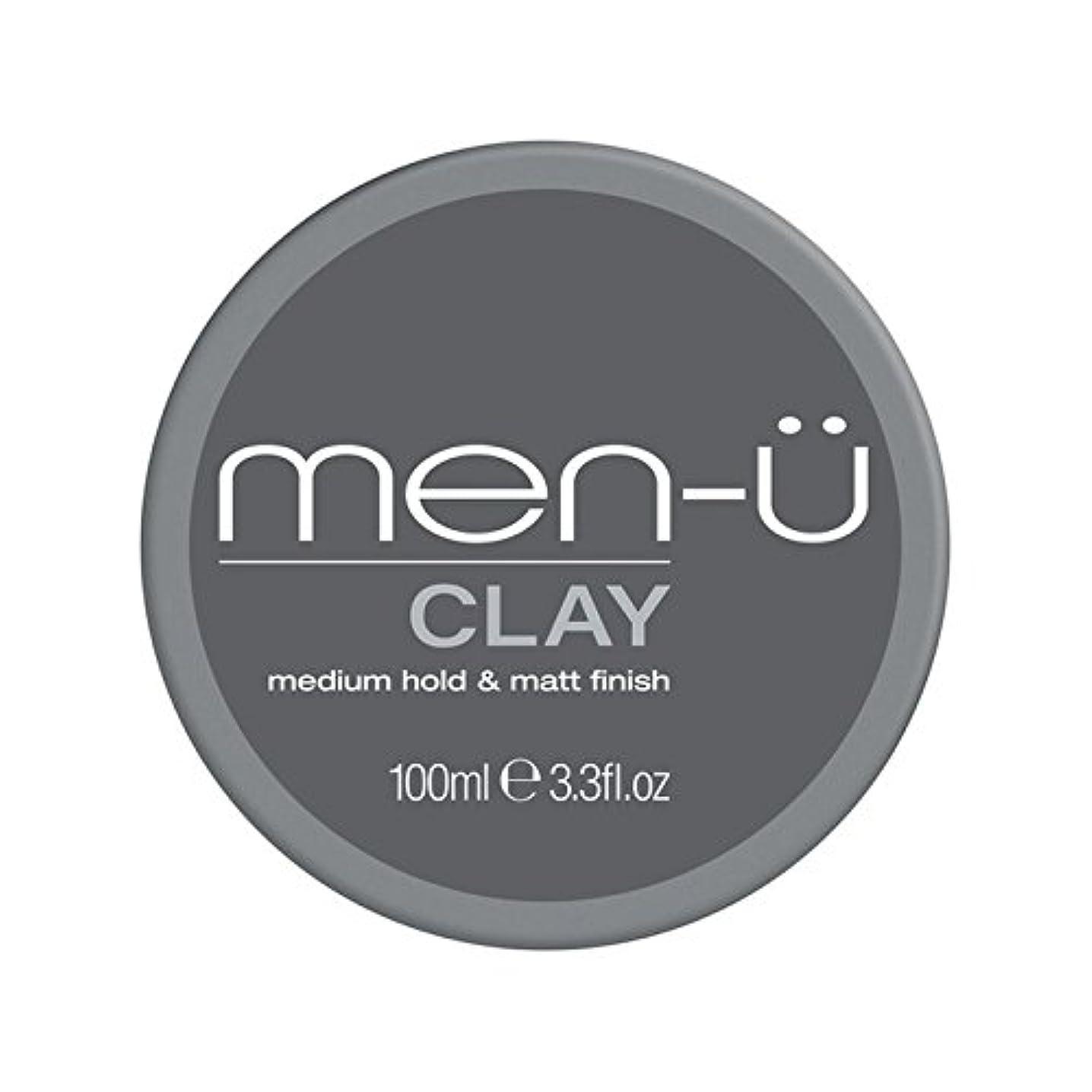 水没誘う依存する男性-粘土(100ミリリットル) x2 - Men-? Clay (100ml) (Pack of 2) [並行輸入品]